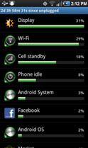 Junos Pulse Mobile Security application's impact on Android battery life-1