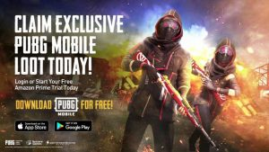 Exclusive Twitch Prime loot in PUBG Mobile
