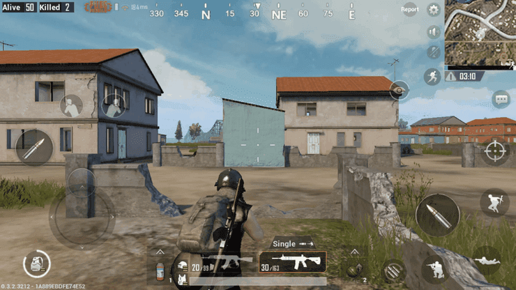 PUBG Mobile has a higher system requirement while looking not as good