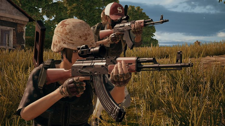 PUBG's guns have different statistics and quirk