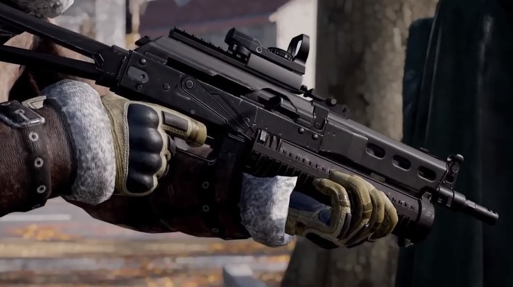 SMGs are great close combat weapon