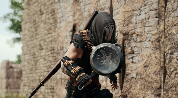 The Pan has become the iconic weapon of PUBG