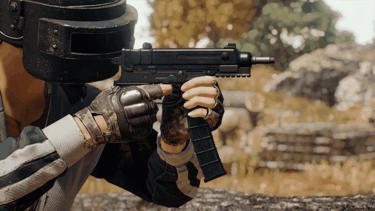The Skorpion is an auto pistol