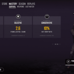 The Survival Screen would have in-depth statistics about your PUBG journey
