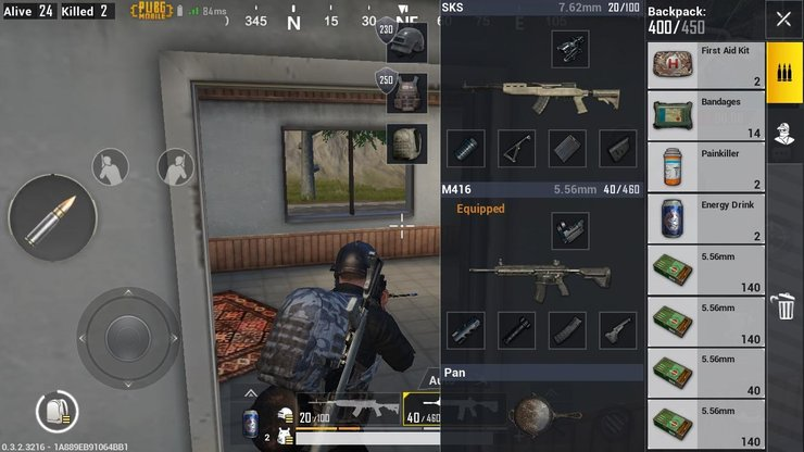 There are too many choices for weaponry in PUBG Mobile