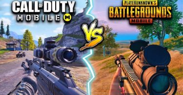 Two of the best FPS titles available on Mobile