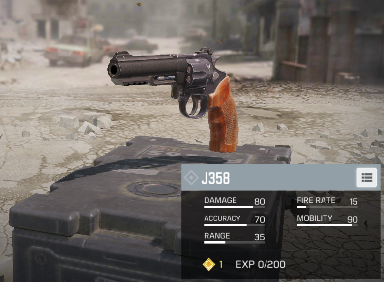 Both the J358 and MW11 are dependable secondaries in CoD Mobile.