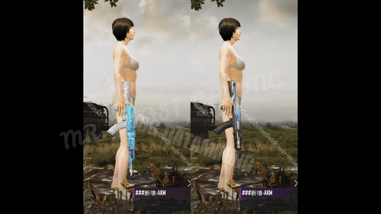 New AKM skins of Season 10