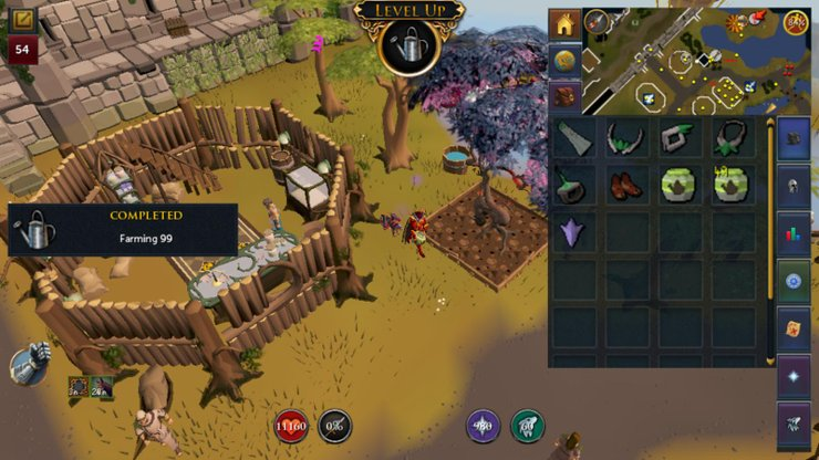 RuneScape Mobile will have a slower pace than its PC counterpart.