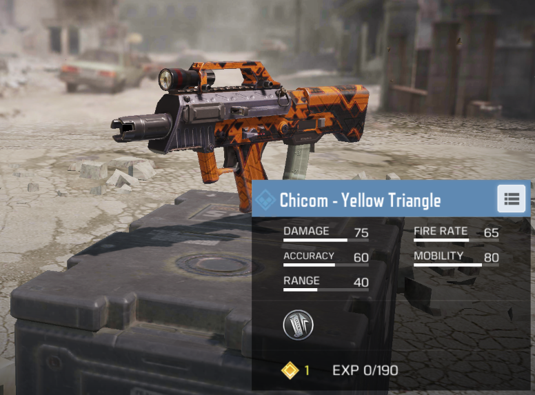 You may have to wait a while to unlock it, but the Chicom SMG is very viable to use in CoD Mobile.