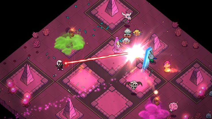 You'll have plenty of cool weapons to wreck your enemies with