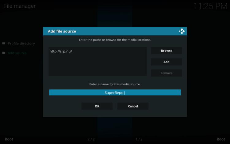 How to Install SuperRepo on KODI 9