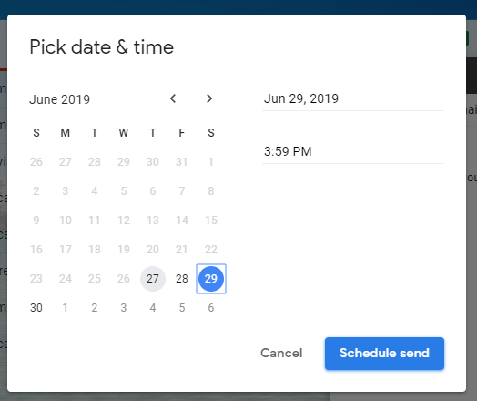 How to Schedule an Email in Gmail 5
