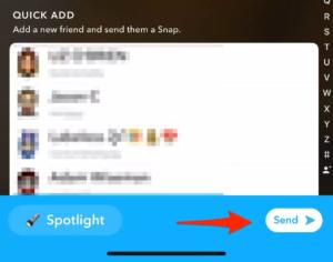 post video on snapchat spotlight