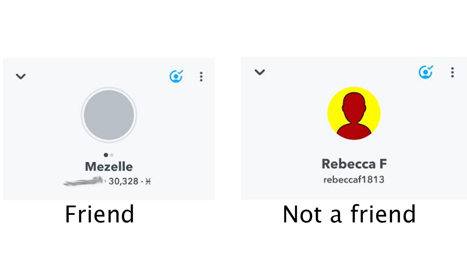 using snapchat scores